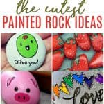 Want to join in on the painted rock fun for an inexpensive family activity? Check out these painted rock ideas to get you started.