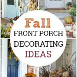 Let these fall front porch decorating ideas inspire you to create the perfect fall porch makeover and celebrate the season with fabulous curb appeal.