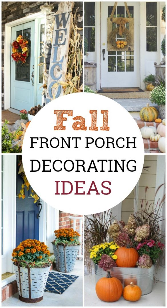 Let these fall front porch decorating ideas inspire you to create the perfectfall porch makeover and celebrate the season with fabulous curb appeal.