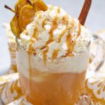 Apple Cider floats are a great transitional dessert for fall when you are in betweenall things fall and still being hot outside.