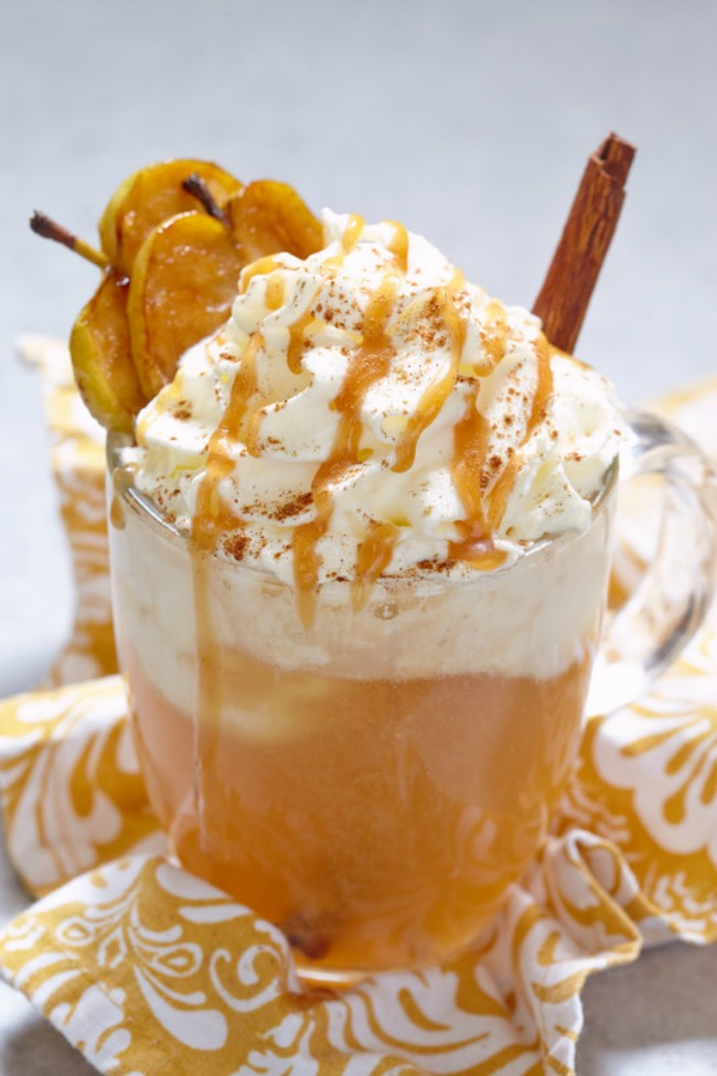 Apple Cider floats are a great transitional dessert for fall when you are in between all things fall and still being hot outside.