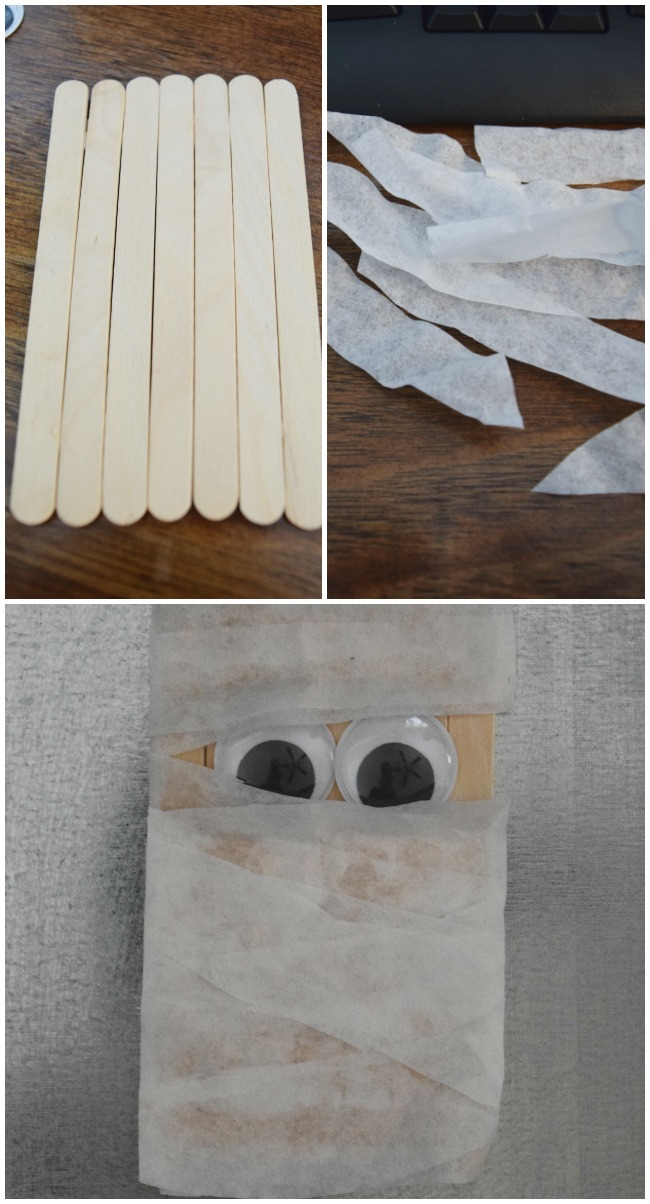 This popsicle stick mummy craft is the perfect easy Halloween craft for kids this holiday season. These little monsters made out of craft sticks are a whole lot of fun and every bit of simple.