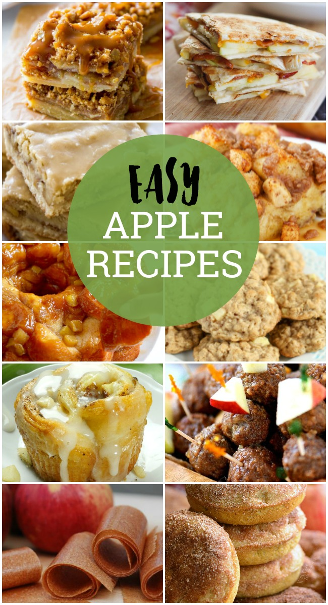 This easyApple Recipescollection has plenty of ideas for what to make withapples, fromapplepie to savory meatballs.Autumn is the perfect season to pick these beautifulapplesand make fall's favorite fruit team up with a little sugar and spice to make everything nice.