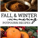 Thesesimmering potpourrirecipes will have your house smelling heavenly with the delicious scents of whatever season you are craving.