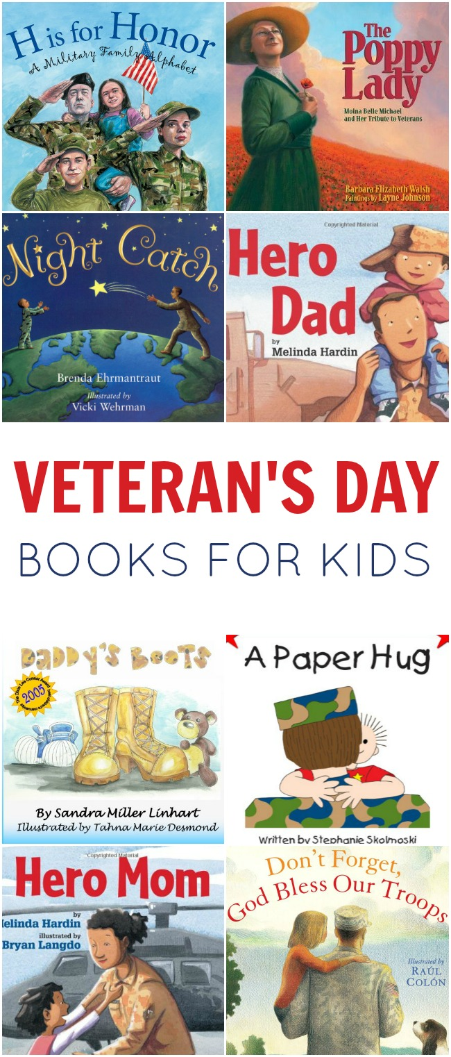 Sometimes it's hard to explain the importance and meaning behind a holiday. If you need a little help, check out these amazing Veteran's Day Books for kids!
