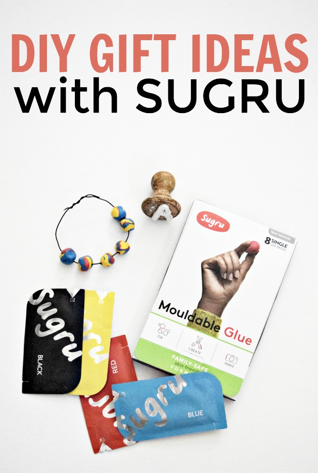 Are you looking for some extra-special ideas for all those people on your holiday list? Then these DIY gift ideas with Sugru are perfect for that! #DIYGiftIdeas #Sugru #MouldableGlue #SugruMouldableGlue #Gifts #giftideas