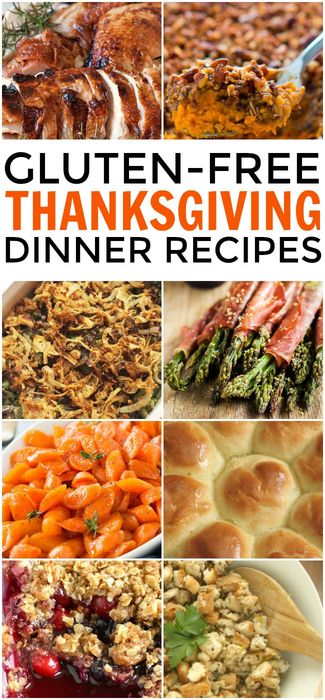 Every Thanksgiving, the gluten-free families face a big dilemma: How to tweak traditional recipes to fit their lifestyle. No worries today, there's no gluten here but instead everything you need for gluten free Thanksgiving dinner recipes.