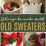 Don't throw out those old sweaters! Learn how to make new things from them with these awesome DIYideas.