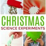 TheseChristmas science experiments are jam-packed with fun and exciting ideas to make this holiday season filled with wonder and exploration.