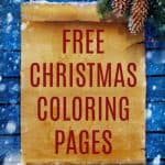These Free Christmas Coloring Pages are a great way to keep your kids (or even yourself) occupied this busy holiday season. Check out all these cute options from Santas and Snowmen to nativities and yes even the Elf on the Shelf.