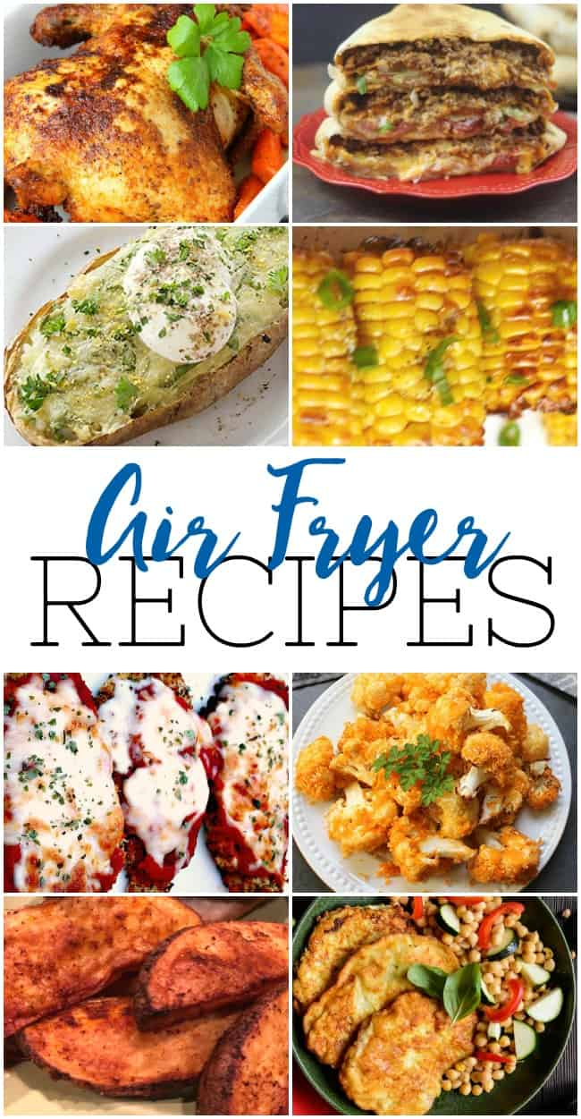 Air Fryer Recipes allow you to enjoy all your favorite meals while retaining that same delicious crispiness but without all those yucky extra calories. #AirFryerRecipes #AirFryer #HealthyRecipes #BestAirFryerRecipes