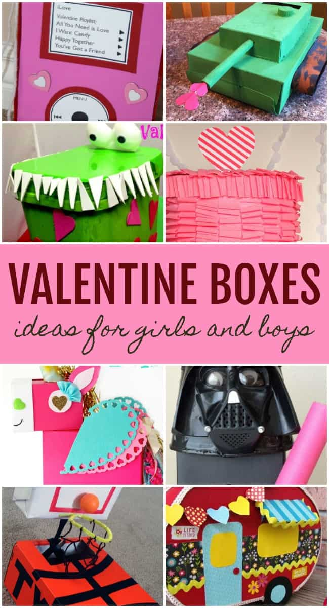 Looking for Valentine box ideas for school? You can find inspiration from the best ideas on the internet right here in this post. Whether you've got a few minutes or a few hours, DIYing one of these Valentine boxes is a fun way to spend some time with your little cupids. #ValentinesDay #ValentineBoxIdeas #ValentineBoxes #Valentines #CraftsforKids