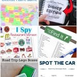 Whether you are planning a long road trip or just a couple hours out of town these road trip ideas for kids will definitely come in handy. From finding all the state license plates to Lego building in the car there is no need to dread a long road trip with the kids in tow anymore. #roadtrip #RoadTripIdeasforKids #RoadTripActivities #Vacation