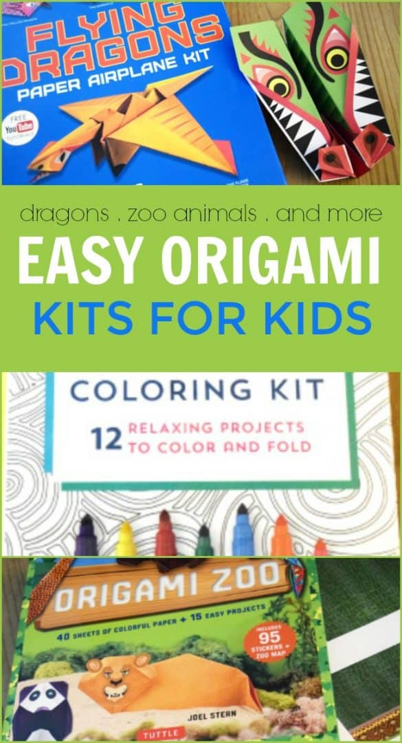 Looking for some fun summertime activities? These Origami Kits for Kids are the perfect boredom buster. Learn the ancient art of folding paper with easy to follow instructions. Featuring super-bright neon papers and fun sticker embellishments, these origami kits are ideal for those creative minds to craft endless interesting shapes.  #Origami #OrigamiKits #OrigamiforKids #OrigamiKitsforKids #ArtofFoldingPaper #PaperFolding