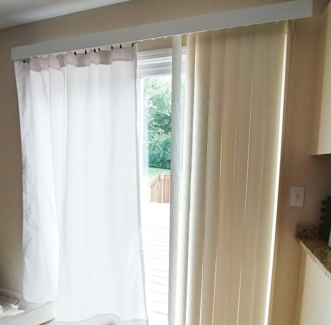 How To Replace Vertical Blinds With Curtains Today S Creative Ideas