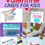 These printableValentine cards for kidsare suitable for preschool, kindergarten and grade school children to exchange for the holiday.