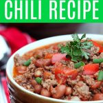 If you are looking for a great chili recipe then look no further. This Wendy's copycat version is spot on with their taste. You won't regret it! #ChiliRecipe #WendysChili #CopycatRecipes