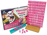 Alphabet Cookie Stamp Set of 152 Small Stamps Including Letters Lower & Upper Case, Numbers and Punctuation Stamps To Make Customizable Stamped Messages In Your Baking Of Cookies, Fondant And Cakes