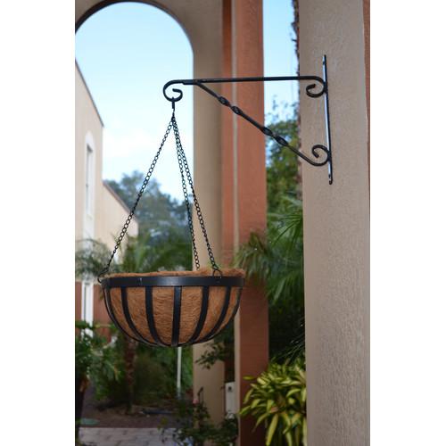 Solstice Round Hanging Basket Planter