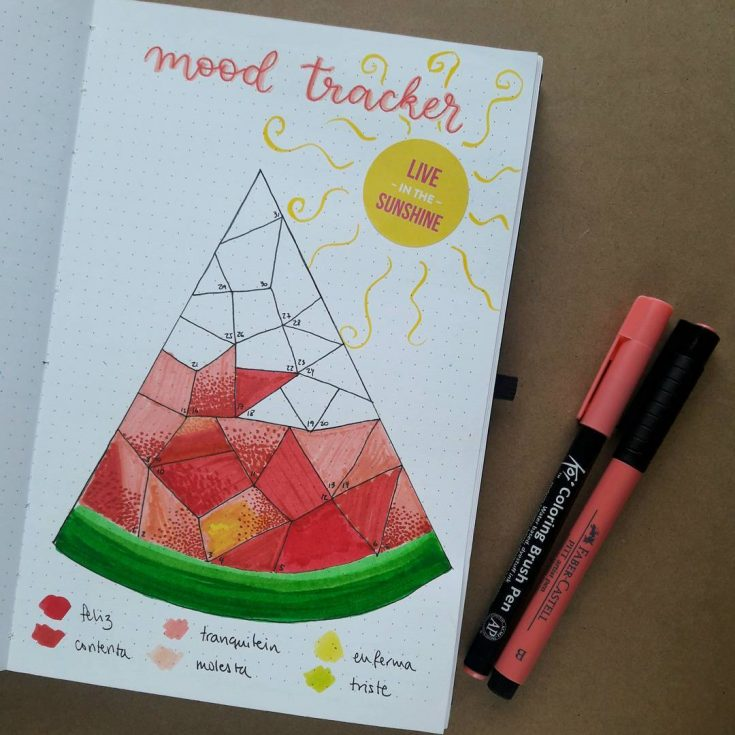 Watermelon Mood Tracker