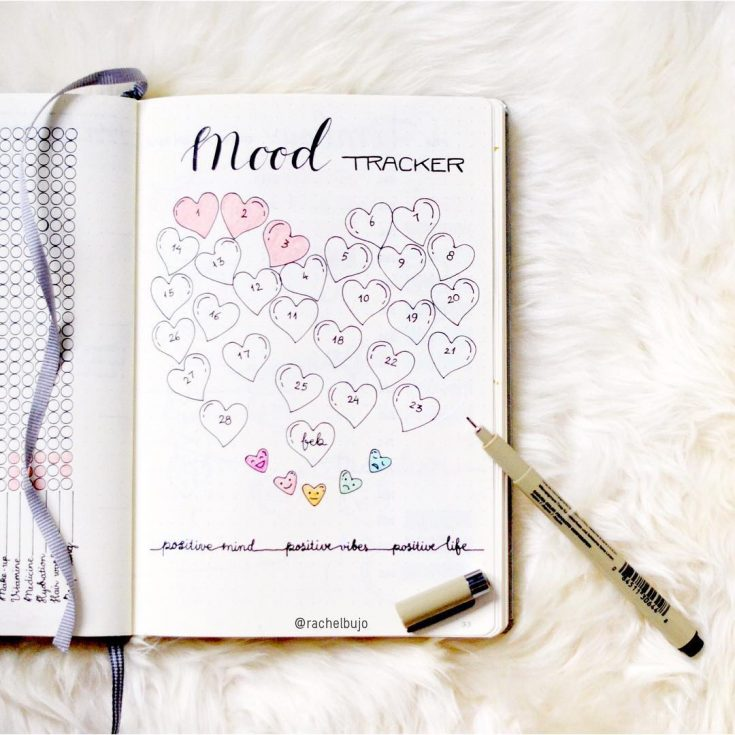 Hearts Mood Tracker