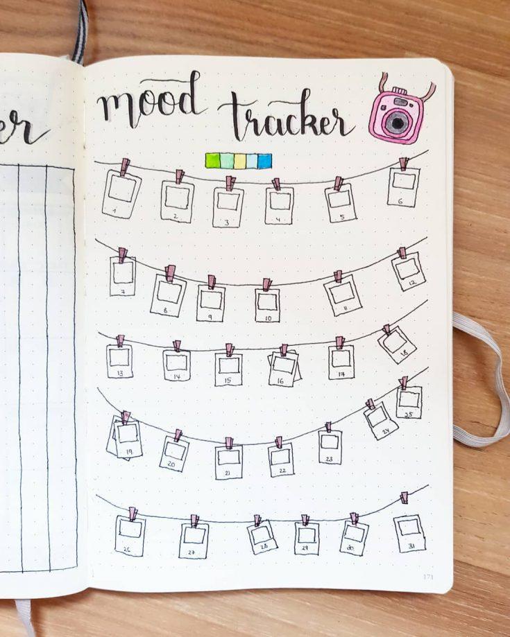Polaroid Mood Tracker