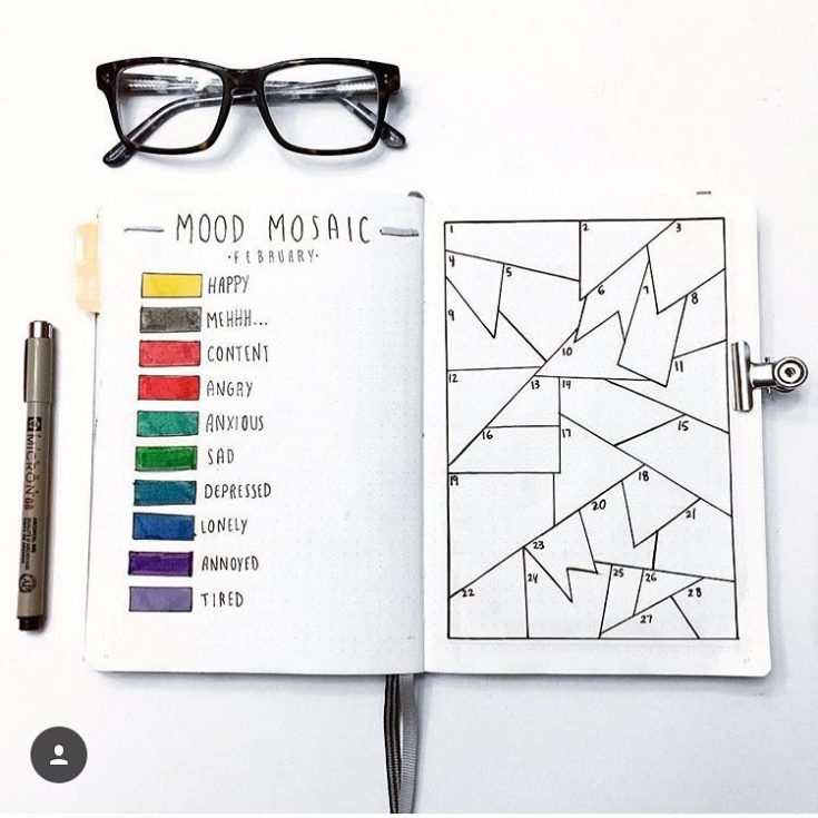 Mosaic Mood Tracker