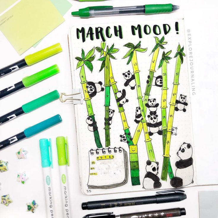 Bamboo Mood Tracker