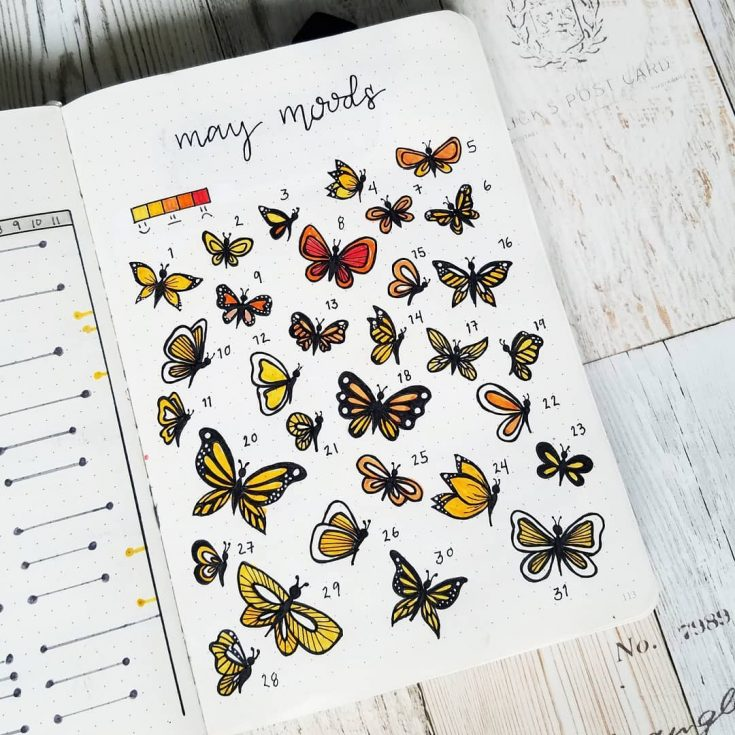 Butterflies Mood Tracker