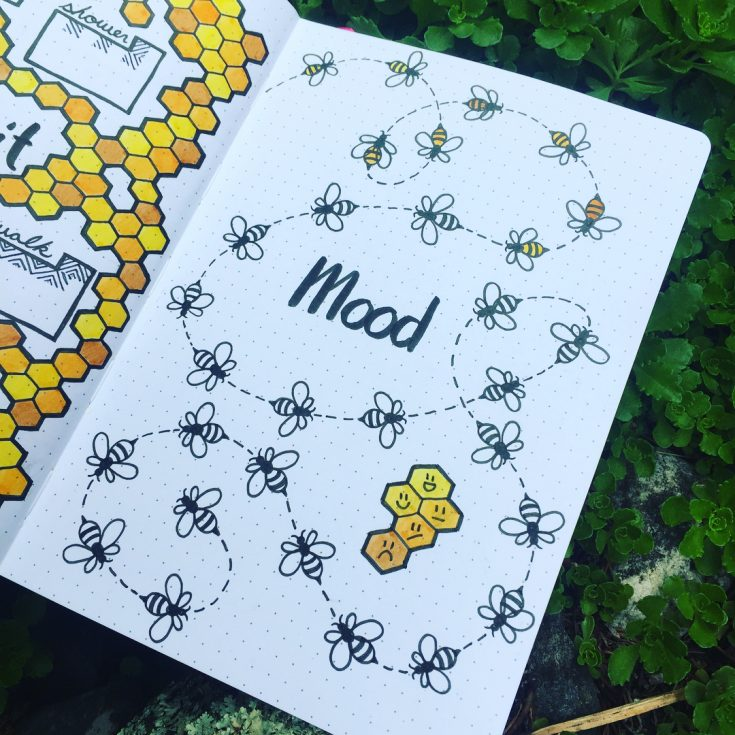 Bumble Bee Mood Tracker