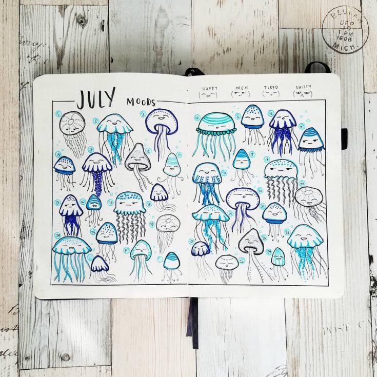 Jellyfish Mood Tracker