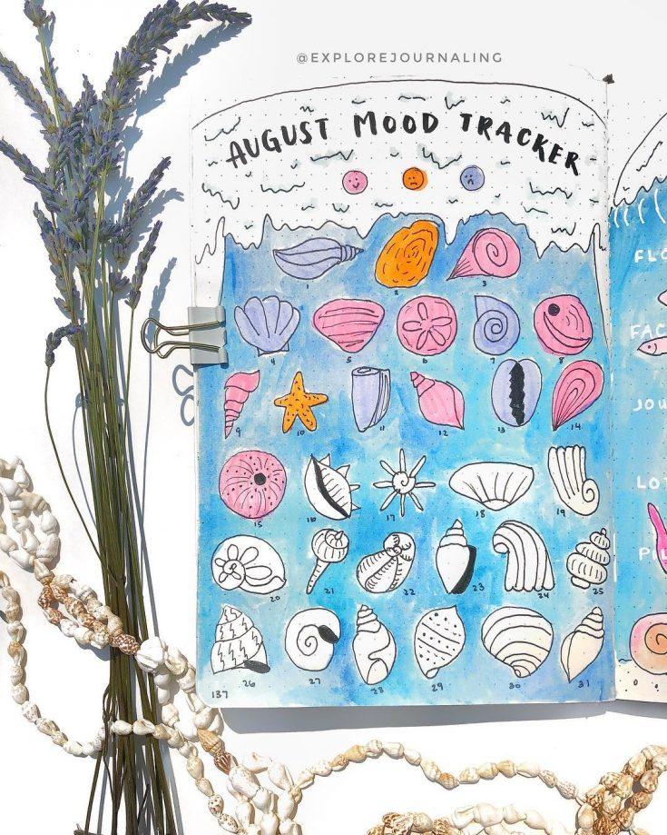 Seashells Mood Tracker