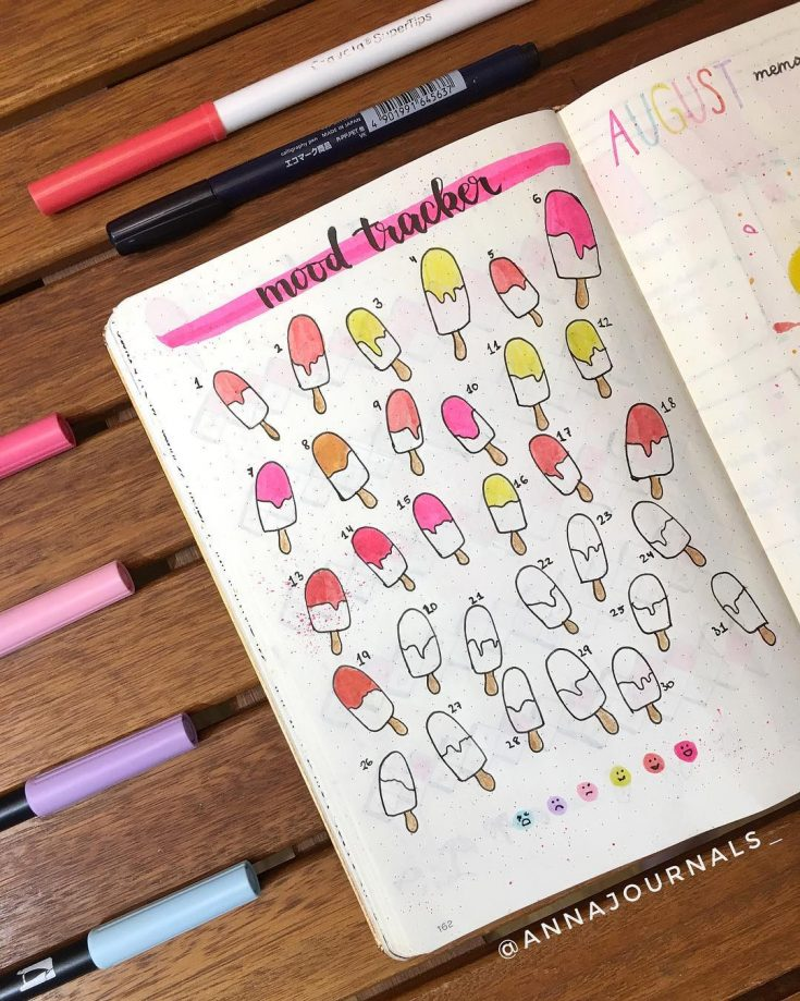 Popsicle Mood Tracker