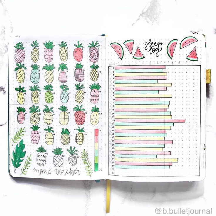 Pineapple Mood Tracker