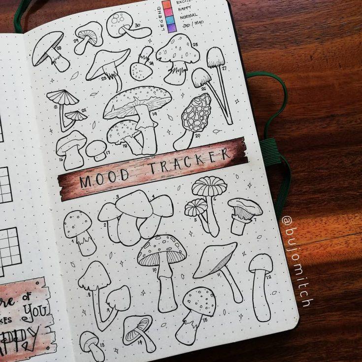 Mushroom Mood Tracker