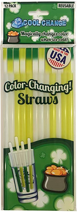 Cool Change Color Changing Straws