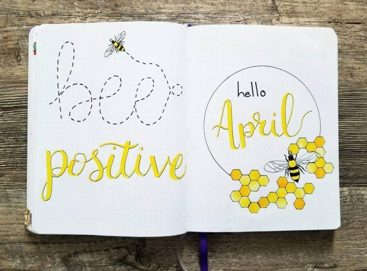 Bee Positive April Cover Page