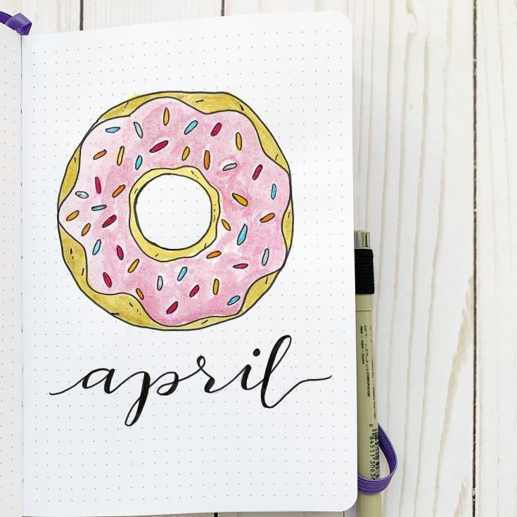 Super Simple Donut April Cover Page