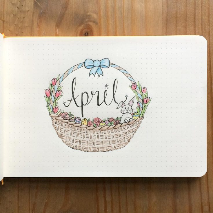 April Easter Basket Cover Page