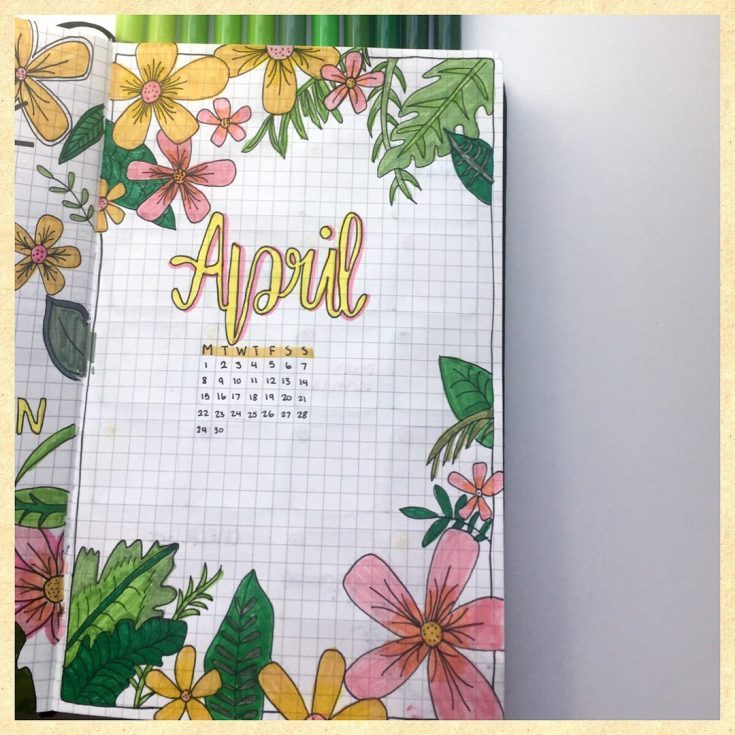 Gorgeous April Cover Page