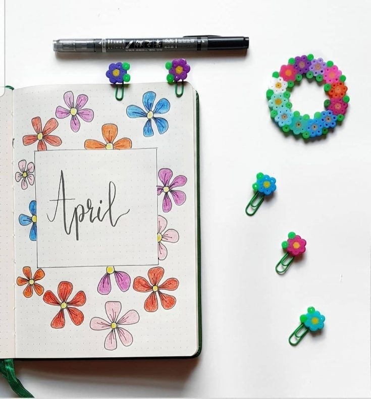 Simple Floral April Design