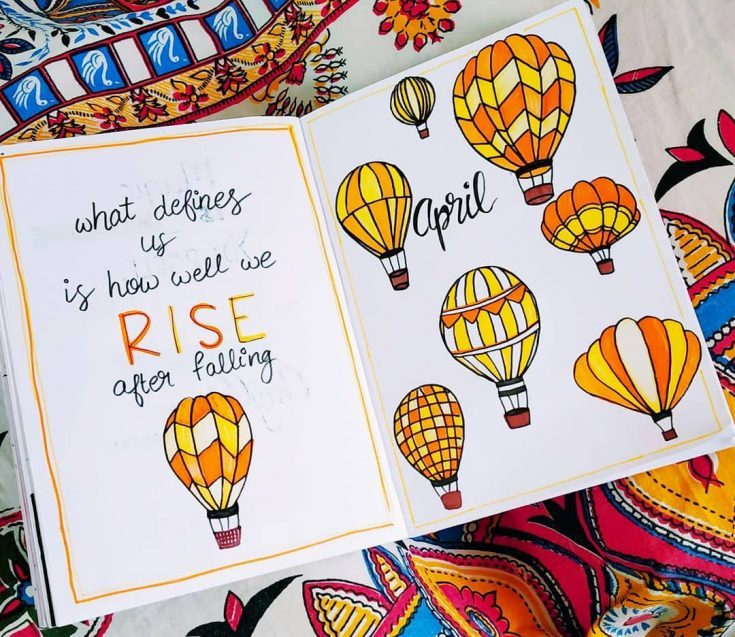 Hot Air Balloons - Rise After Falling