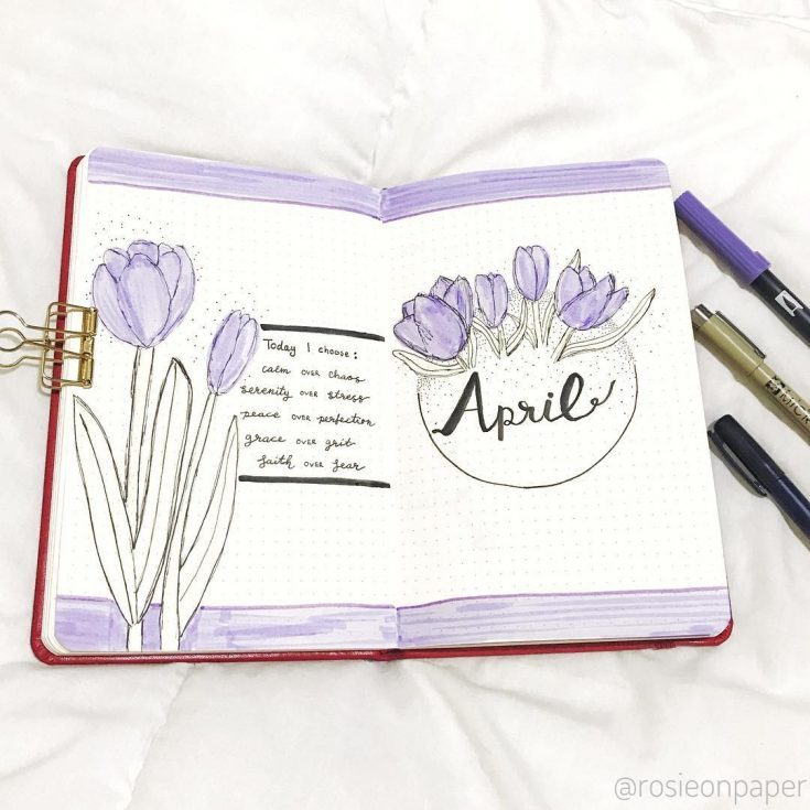 Purple Tulips Cover Page