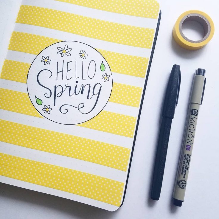 Hello Spring Cover Page