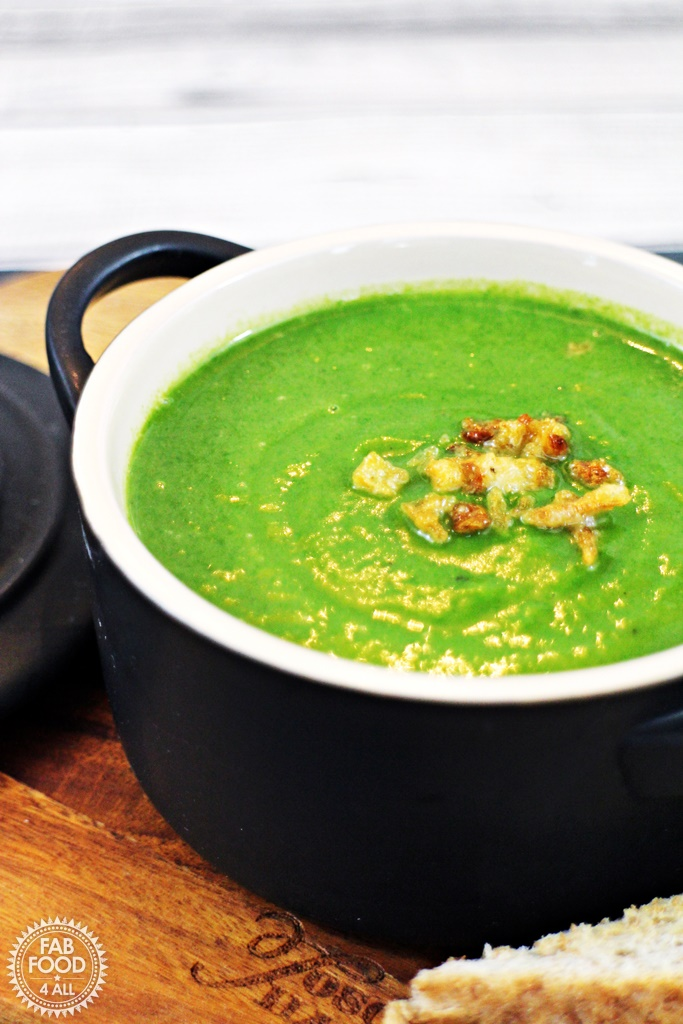 Spinach & Butternut Squash Soup