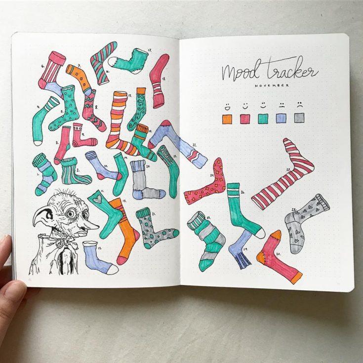 Socks Mood Tracker