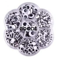 700 Piece Round Wiggle Eyes