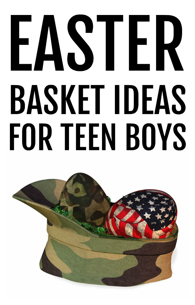 You're never too old for Easter and we have some great ideas for an Easter basket for teen boys including everyday essentials and a few fun extras.