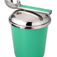 Ice Cream Container with Scoop, Mint Chip