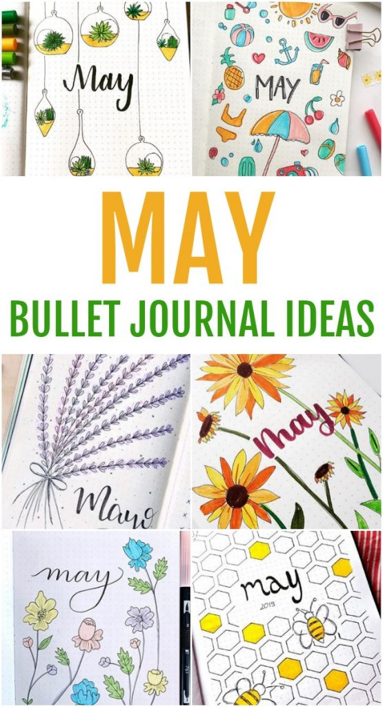 Whether you are searching for a cover page or an entire setup, this collection of May bullet journal ideas is the perfect way to jump-start your creativity.